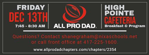 All Pro Dads Information