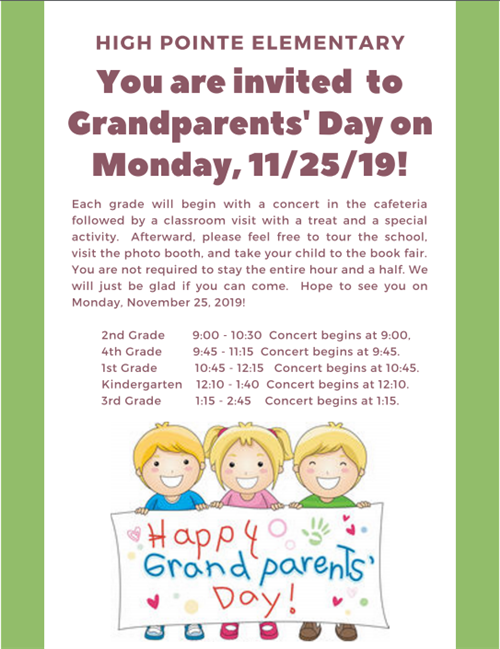 Grandparent's Day Information
