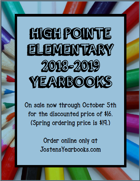 Yearbook Purchase Information