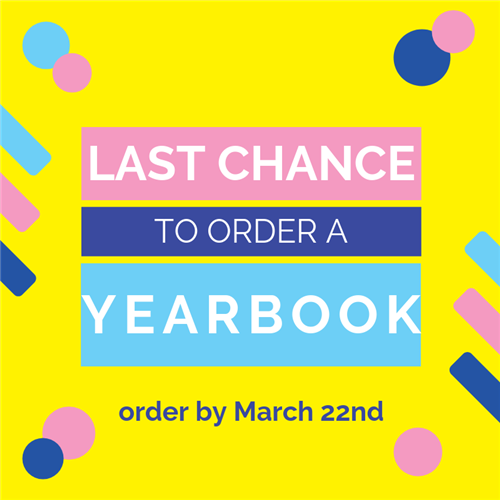 Buy your Espy 2019 yearbooks HERE! Yearbooks are $19 and will be on sale until March 22nd!