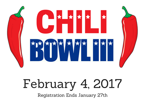 Chili Cook Off February 4th