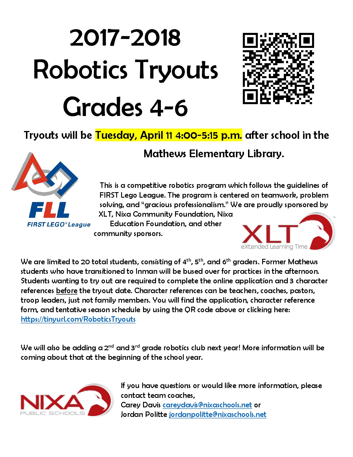 robotics flyer jpg big bot tryouts